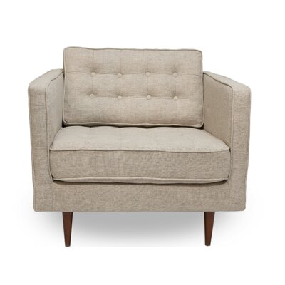 Cayton Armchair Upholstery: Beige