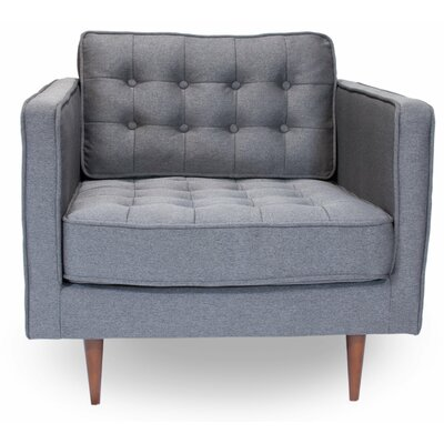 Cayton Armchair Upholstery: Gray