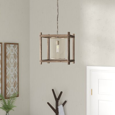 Mcgee Brass 1-Light Foyer Pendant
