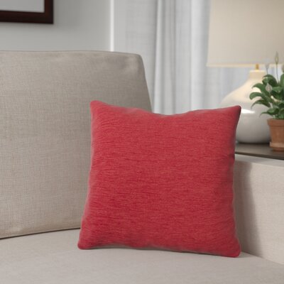 Danin Outdoor Throw Pillow Color: Fire, Size: Large