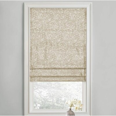 Sellner Blackout Cordless Roman Shades Color/Finish: Beige, Blind Size: 28W x 63L