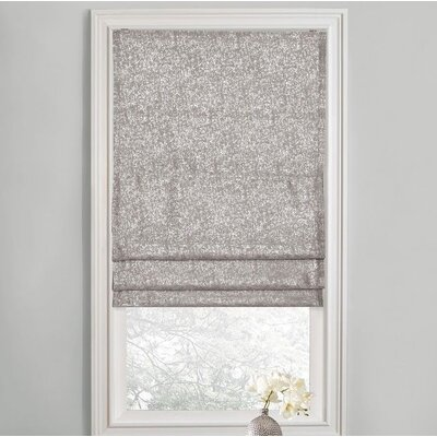 Sellner Blackout Cordless Roman Shades Color/Finish: Gray, Blind Size: 28W x 63L