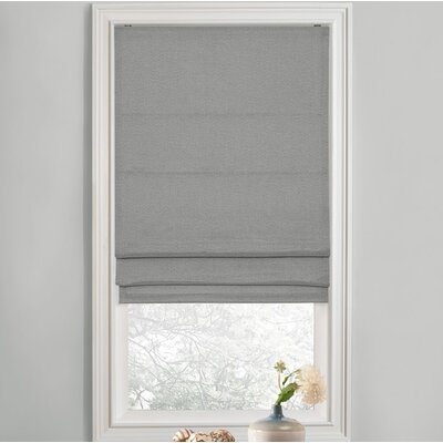 Sellner Premium Blackout Cordless Roman Shades Color/Finish: Gray, Blind Size: 31W x 63L
