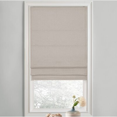 Sellner Premium Blackout Cordless Roman Shades Color/Finish: Neutral, Blind Size: 28W x 63L