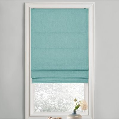 Sellner Premium Blackout Cordless Roman Shades Color/Finish: Spa, Blind Size: 28W x 63L