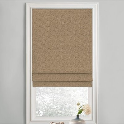 Sellner Blackout Cordless Roman Shades Color/Finish: Linen, Blind Size: 31W x 63L