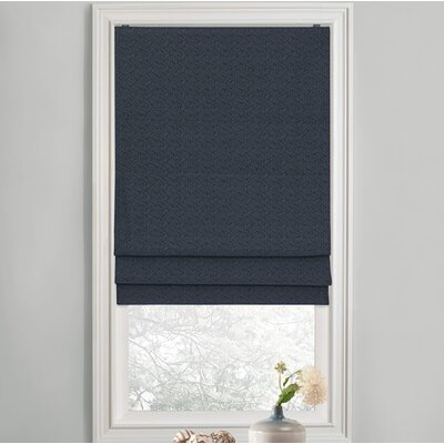 Sellner Blackout Cordless Roman Shades Color/Finish: Navy, Blind Size: 33W x 63L