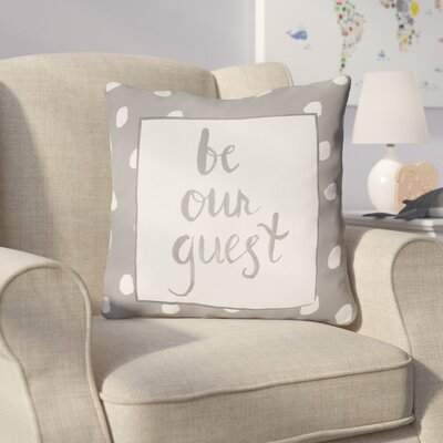 Gianna Indoor/OutdoorThrow Pillow Size: 18 H x 18 W x 4 D, Color: Gray