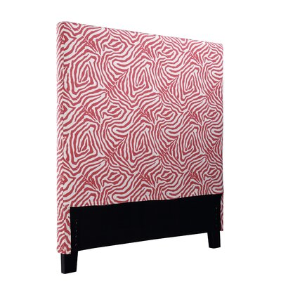 Holsey Wild Life Upholstered Panel Headboard Size: Twin