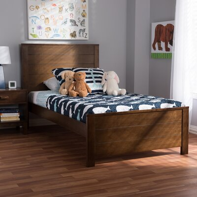 Ecklund Platform Bed Size: Twin