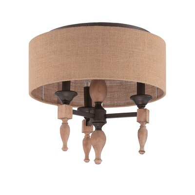 Lagasse 3-Light Flush Mount