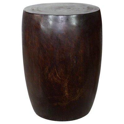 Aaliyah Mango Merlot Twist End Table Color: Livos Dark Walnut Oil