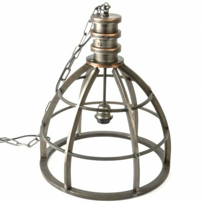 Glowacki Metal 1-Light Inverted Pendant