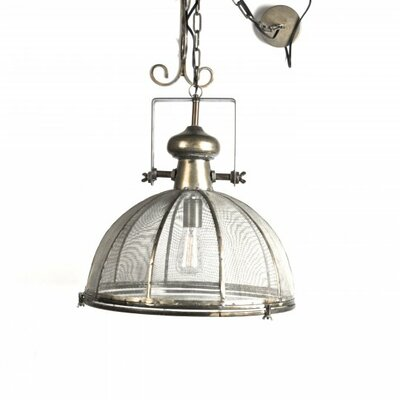 Whitham Metal 1-Light Inverted Pendant