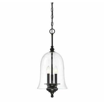Youngberg 3-Light Inverted Pendant Finish: Matte Black