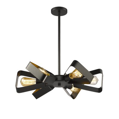 Douthit 6-Light Geometric Pendant
