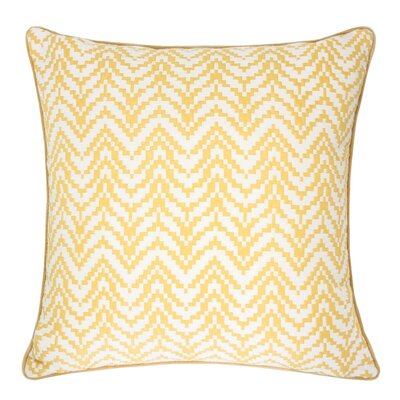 Robbins Indoor/Outdoor Throw Pillow Color: Gold