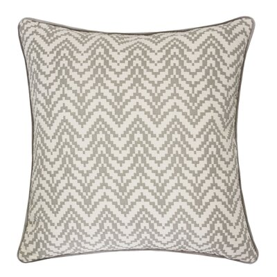 Robbins Indoor/Outdoor Throw Pillow Color: Light Gray