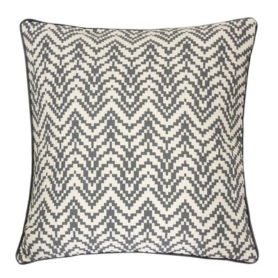 Robbins Indoor/Outdoor Throw Pillow Color: Dark Gray