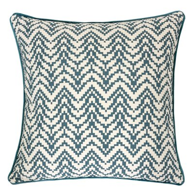 Robbins Indoor/Outdoor Throw Pillow Color: Green