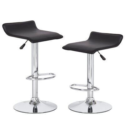 Peeples Adjustable Height Swivel Bar Stool