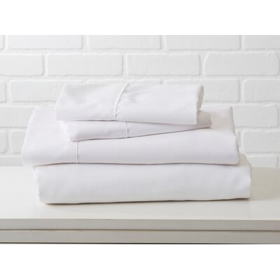 Hartland Sheet Set Color: Optic White, Size: Full