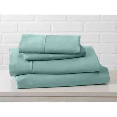 Hartland Sheet Set Color: Dusty Jade Green, Size: Twin
