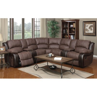 Nicholas Reclining Sectional (Set of 7)