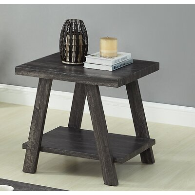 Filipek End Table Color: Charcoal