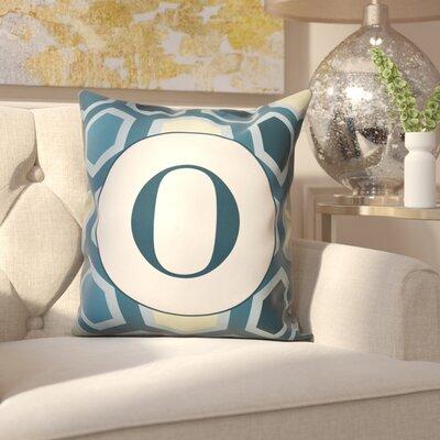 Hartig Hexagon Monogram Pillow Letter: O