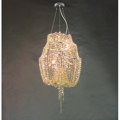 Mcmurtry 12-Light Crystal Chandelier