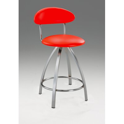 Pinedo 38 Bar Stool Color: Red
