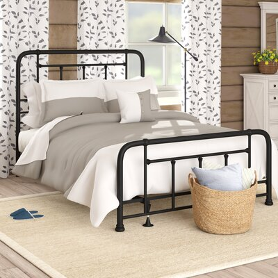 Yaqi Panel Bed Size: King