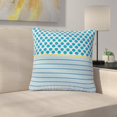 Trebam Bazen Outdoor Throw Pillow Size: 16 H x 16 W x 5 D