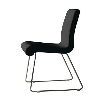 Seevers Dining Chair (Set of 4) Color: Black