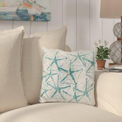 Buckland Sealife Batik Throw Pillow
