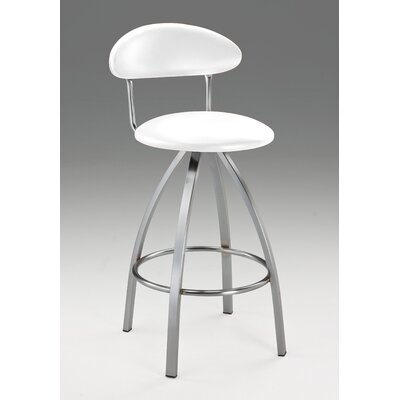 Pinedo 42 Bar Stool Color: White
