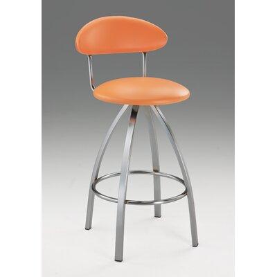Pinedo 42 Bar Stool Color: Orange