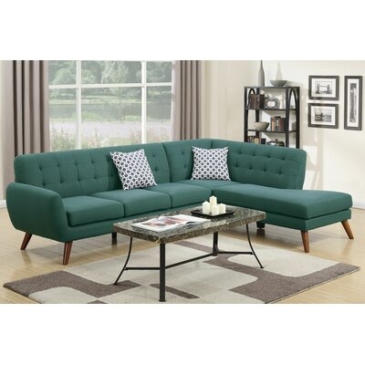 Cowans Reversible Sectional Upholstery: Laguna