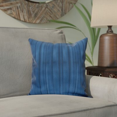 Viet Pool Indoor/Outdoor Throw Pillow Size: 18 H x 18 W, Color: Navy Blue