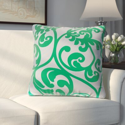Chalfont Throw Pillow Color: Peacock Green