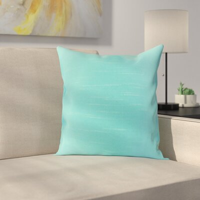 Lindfield Throw Pillow Color: Aquamarine, Size: 20 H x 20 W