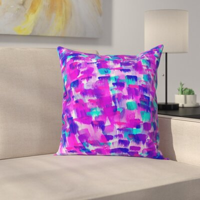 Currans Outdoor Throw Pillow Size: 16 H x 16 W x 4 D