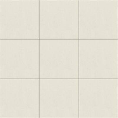 Solid Seashell 8 x 8 Cement Field Tile in Off-White