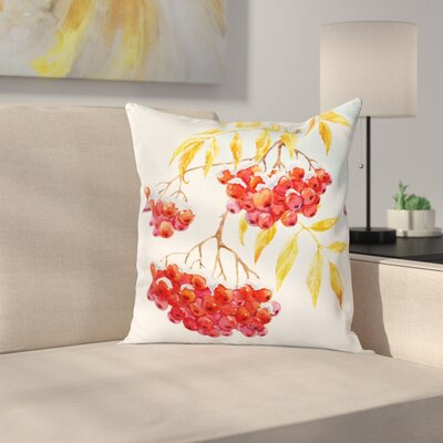 Ashberry Pillow Cover Size: 24 x 24