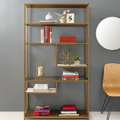 Selzer Geometric Etagere Bookcase Product Picture 671
