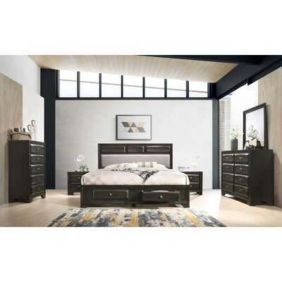 Beagan Platform 6 Piece Bedroom Set Size: King