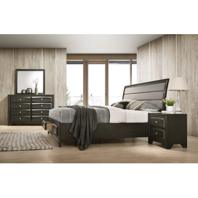 Gauch Platform 4 Piece Bedroom Set Size: Queen