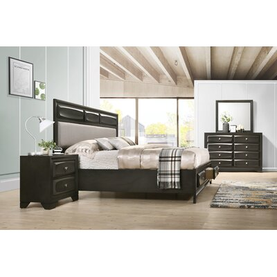 Beagan Platform 4 Piece Bedroom Set Size: King