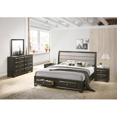 Gauch Platform 5 Piece Bedroom Set Size: King